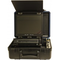 UWS-3470 Complete Portable Color HIGH DEFINITION Video System with LED Light
