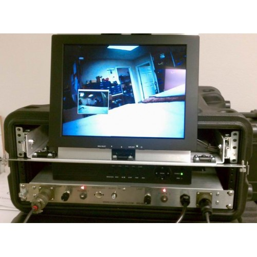 UWS-3210/D Complete Dual Portable Color Video System with LED Light ANU# 6.2.23
