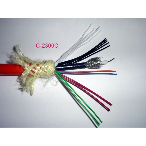 C-2300C Multi Conductor Cable for All Cameras